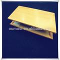 Nuevo diseño de aluminio de tubo rectangular de techos, suspendido de metal
