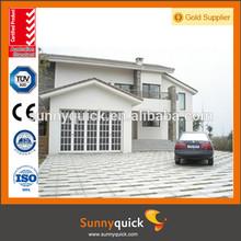 plexiglass garage doors/fold up garage doors/glass garage door