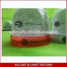 Hot Sale acrylic snow globe/ acrylic photo dome