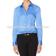 latest formal long sleeve office blouse designs for women