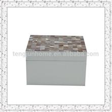 jewelry packaging box mini wooden treasure chest jewelry box