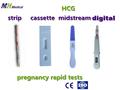 Mh preço baixo teste de gravidez hcg tira em, cassete, meio do caminho, forma digital