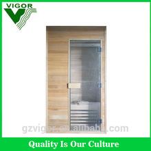Popular Finland sauna room cheapest solid wood sauna steam room combination