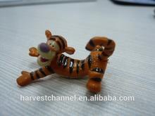 Pvc baby animal figurine toy for children