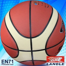 novel style Chinese pvc synthetic colorized basketball