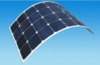 Cheap price high efficiency SUNPOWER 80W 85W 90W 100W semi flexible solar panel price