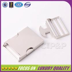 High quality zinc alloy metal car seat belt buckle