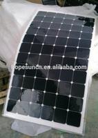 Marine flexible solar panel 150W semi flexible pv solar panel price