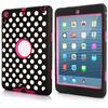 For iPad mini PC case, portable back cover case for iPad mini retina