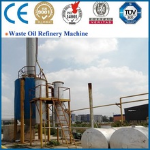 the best selling automatic 10ton recycling fuel oil from waste rubber and plastic with certification of CE,ISO