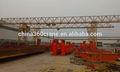 modelo qd doble vigas de puente grúa se utiliza en la fábrica de acero