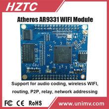 HZTC hot selling embedded wifi module TC-AR38SX small swivel plate