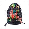 la marca koston suave mochila grande con el patrón de flores de skate mochila kb016