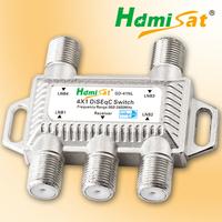 4x1 DiSEqC switch 4 in 1 DiSEqC switch satellite switch