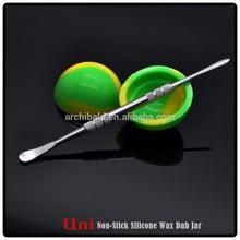 Silicone Mini Small Round Medicine Jar