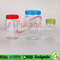 Eco- amigável pet caixa de plástico transparente embalagem do brinquedo educacional/forma única de plástico brinquedo do carro recipiente