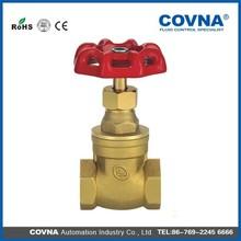 China cast iron non-rising brass stem gate valve