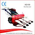 Mini-colhedora digitado e 4G100 paddy colheita máquina