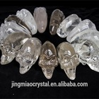 2014 High Quality Amazing nice crystal skull, clear crystal skulls for festival gift