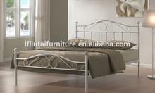 Queen size Designer Antique home platform Metal bed (MB-84)