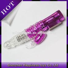 2014 high quality soft silicone novelty diamond sex toys adults vibrator rabbit