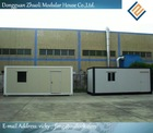 20ft flat packed container house for living-Reduced environmental impact through less waste