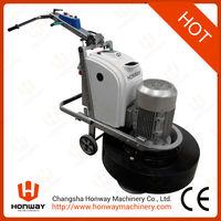 HW-G9 best concrete floor grinding and polishing machine