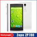 hign qualità guscio di plastica zopo zp780 3g cellulare quad core cpu mtk6582 telefono pera