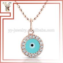 Beats collar de malla magnético de la joyería del ojo turco