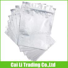 oem customed tear notch ziplock foil packet manufacturer