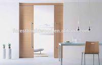 Double Leaf Flush Sliding Wood Pocket Doors