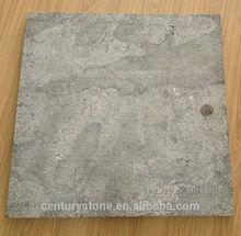 60x60x3cm Flamed brushed blue limestone paver
