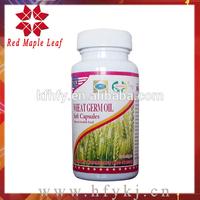 Herbal Food Supplements Anti-aging Wheat Germ Oil softgel capsules
