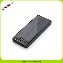 High Capacity 15000mAH Portable Solar Charger Power Bank Solar Energy Power Bank for Mobile Phones