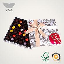 Luxury Paper Packaging Chocolate Praline Box in Alibaba China