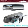 """Car DVR+ 4.3"""" TFT Color Auto Dimming Rearview Mirror"""