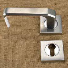 fire rated art deco fancy door lever handles for steel doors squanre escutcheon