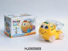 BO Flashing Car Toys, Electric Bump&go Toys Car With Light HJ065869