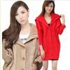 2014 latest fashion Long turtleneck sweater women coat