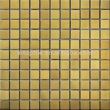 Foshan mosaic factory sun stone coated metal roof tile