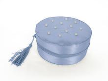 Round Shape Popular Quality Silk Cosmetic Bag