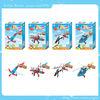 2014 hot 3D educational kit puzzle toy factories little painter plane toy