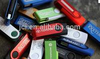 16 GB twist metal USB key for premium gifts, 3.0 swivel USB flash drives