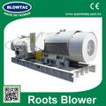 Mrt-200 3 fase três lobos raízes ventilador de alta potência do compressor de ar para tratamento de água