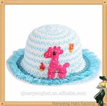 2014 Popular Children Fashion Cheap Straw Hat for Children