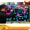 factory direct 60*80cm transparent led writing board super brightness catching eyes for shops advertising with remote control