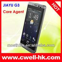 4.5 inch Retina Screen Android 4.0 MTK6577 1GB RAM 4 GB ROM cell phone Jiayu G3