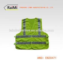 safety vest reflective safety waistcoat