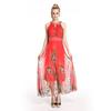 Cheap Customize Fashion Lady Dress 2014, Mature Lady Evening Dress In China
