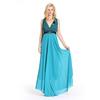 Latest Design Wholesale Maxi Emerald Green Evening Dress